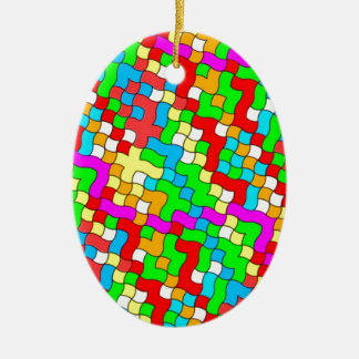 Shool party colorful, christmas ornament