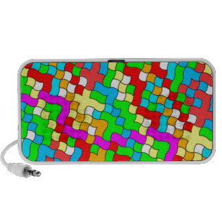 Shool party colorful, mp3 speaker
