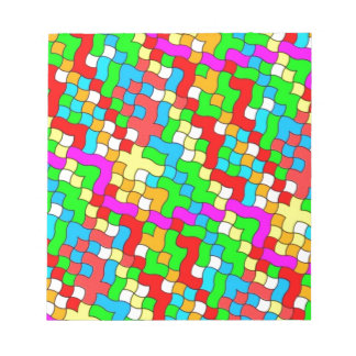 Shool party colorful, note pad