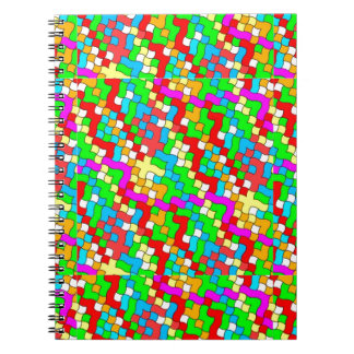Shool party colorful, notebook