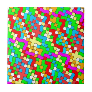 Shool party colorful, tile