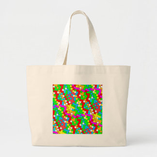 Shool party colorful, tote bag