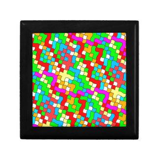 Shool party colorful, trinket box