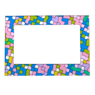 shool party, soft colors magnetic photo frame