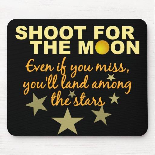 Shoot 4 The Moon mousepad