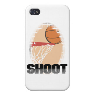 Shoot Basketball T-shirts and Gifts iPhone 4 Case