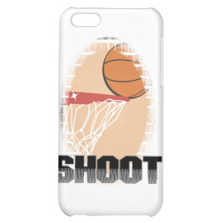 Shoot Basketball T-shirts and Gifts Case For iPhone 5C