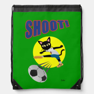 SHOOT! DRAWSTRING BACKPACK