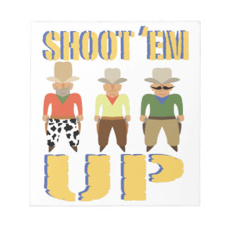 Shoot Em Up Notepad