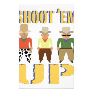 Shoot Em Up Stationery