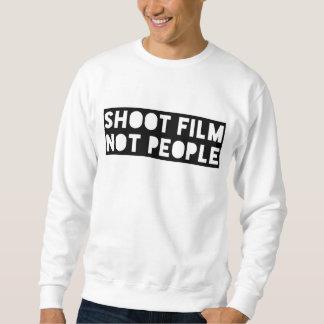 Shoot Film Not People Sweatshirt