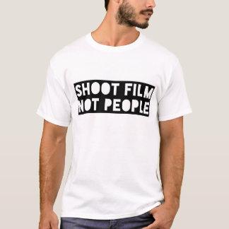 Shoot Film Not People Tee