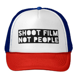 Shoot Film Not People Trucker Hat