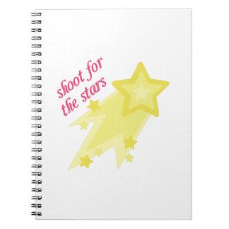 Shoot For Stars Note Books