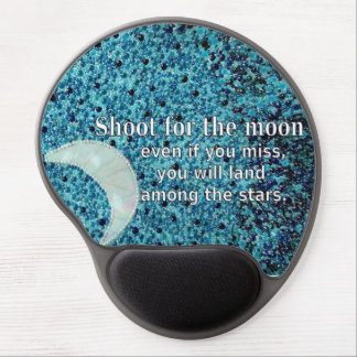 Shoot For The Moon Gel Mouse Pad