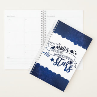 Shoot for the Moon Planner