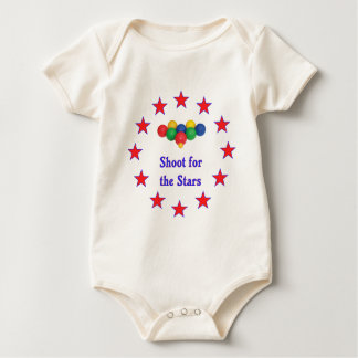 Shoot For The Stars Bocce Ball Baby Bodysuit