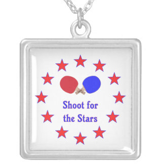 Shoot for the Stars Ping Pong Necklace