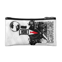 Shoot from the hip cosmetic bag