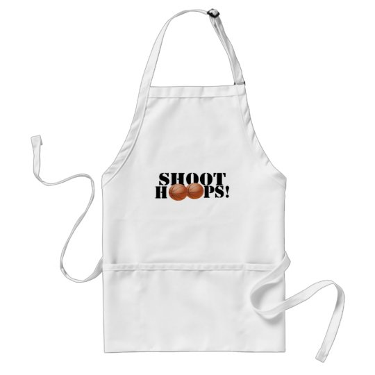 Shoot Hoops! Adult Apron