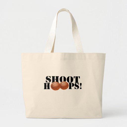Shoot Hoops! Jumbo Tote Bag