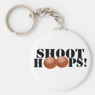 Shoot Hoops! Keychain