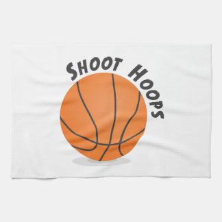 Shoot Hoops Hand Towels