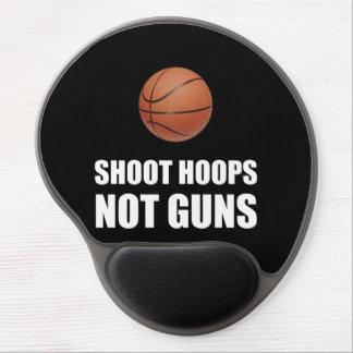 Shoot Hoops Not Guns Gel Mouse Pad