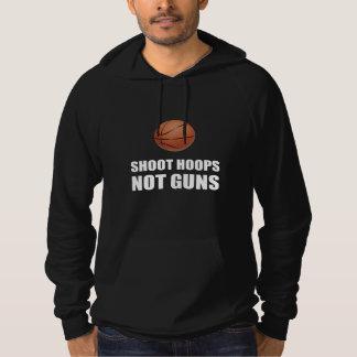 Shoot Hoops Not Guns Hoodie