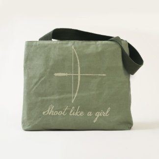 """Shoot Like a Girl"" Longbow Bag"