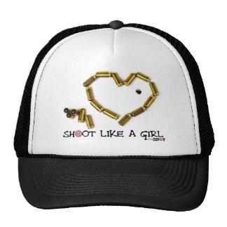 Shoot Like A Girl Trucker Hat