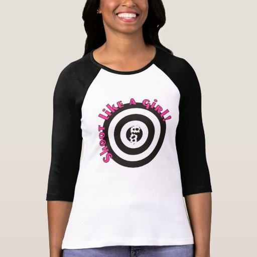Shoot Like A Girl T-shirts
