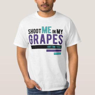 Shoot Me In my Grapes - Retro 5 Jordan Matching T T-Shirt