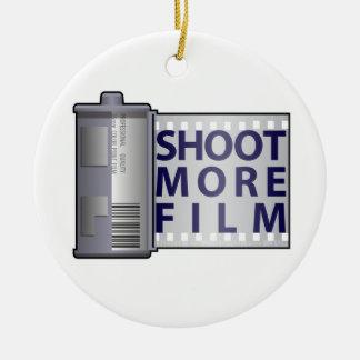 Shoot More Film Ornament