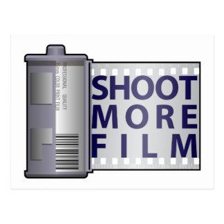 Shoot More Film Postcard