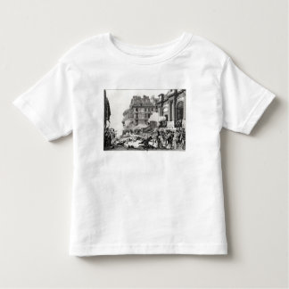 Shoot-out before St. Roch church in Paris Toddler T-shirt