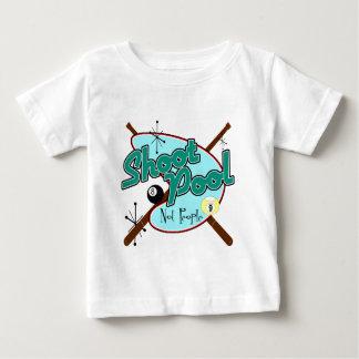 Shoot Pool, Not People! Baby T-Shirt