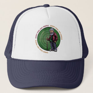Shoot Pool Not People Trucker Hat