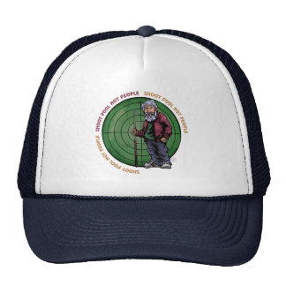 Shoot Pool Not People Trucker Hat