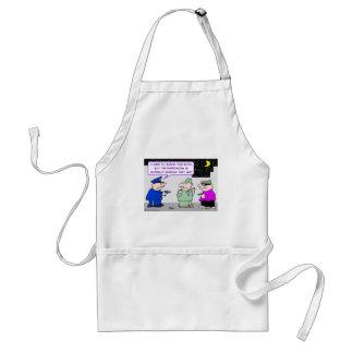 shoot simpler cop mugger adult apron