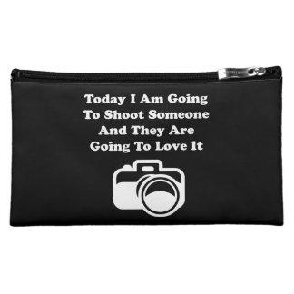 Shoot Someone Camera Cosmetic Bag