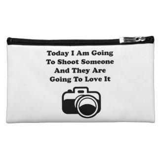 Shoot Someone Camera Makeup Bag