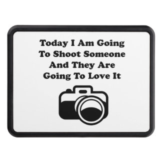 Shoot Someone Camera Trailer Hitch Covers