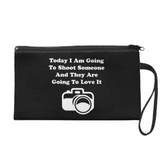 Shoot Someone Camera Wristlet