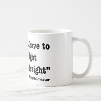 Shoot Straight Coffee Mug