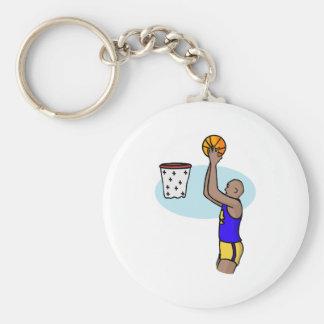 Shoot the ball keychain