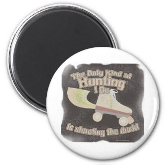 Shoot the Duck 2 Inch Round Magnet