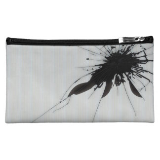 Shoot the glass cosmetic bag