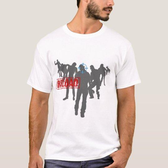 Shoot The Zombies - Shotgun Reload Game Gamer T-Shirt