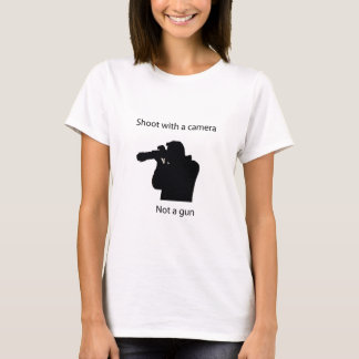 shoot with a camera T-Shirt